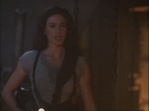 "Claudia Black as Aeryn Sun, Farscape, ""PK Tech Girl"""