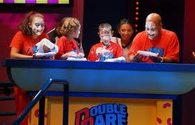 Contestants on Double Dare