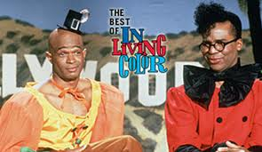 "Antoine Meriweather and Blaine Edwards from In Living Color's ""Men On..."" skits"