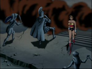 Diana returns to find Themyscira in ruins