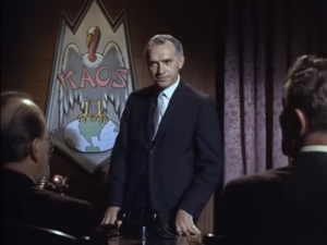 "Harry Basch as KAOS Leader, Get Smart, ""Too Many Chiefs"""
