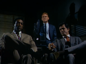 "Bill Cosby as Alexander Scott and Robert Culp as Kelly Robinson, I Spy, ""Magic Mirror"""