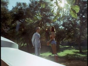 Andros and Wonder Woman say good bye