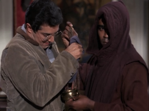 "Peter Lupus as Willy Armitage and Greg Morris as Barney Collier, Mission: Impossible, ""The Heir Apparent"""