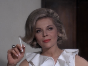 "Barbara Bain as Cinnamon Carter, Mission: Impossible, ""The Heir Apparent"""