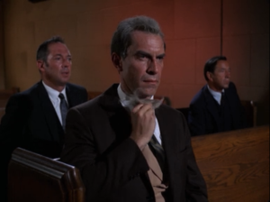 "Martin Landau as Rollin Hand, Mission: Impossible, ""The Heir Apparent"""