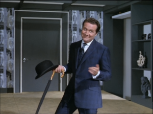 "Patrick Macnee as John Steed, The Avengers, ""You Have Just Been Murdered"""