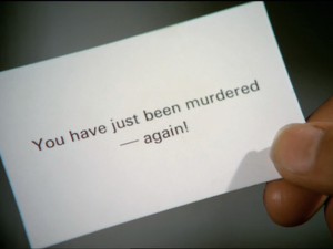 "The Avengers, ""You Have Just Been Murdered"""