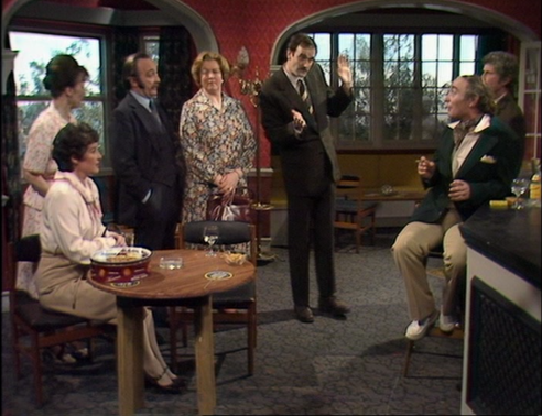 "Fawlty Towers, ""The Anniversary"""