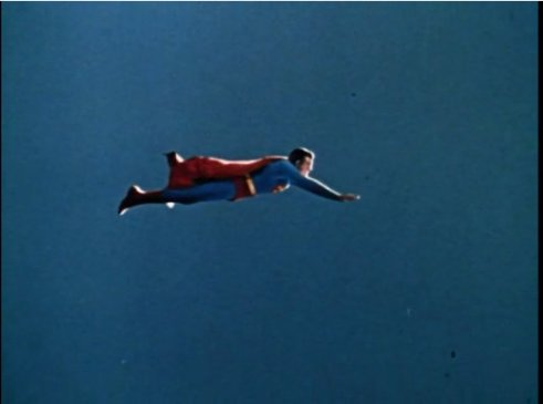 Superman Flying