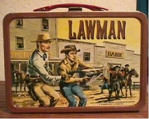 Lawman lunchbox
