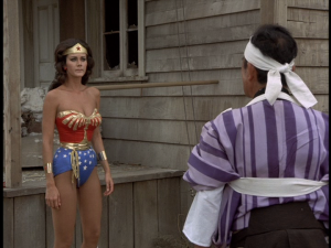 Wonder Woman confronts Ishida