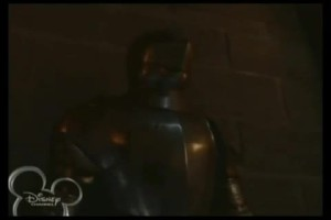 "Suit of armor, hinting at Jack's destiny as an Arthurian knight (""Chrysalis"")"