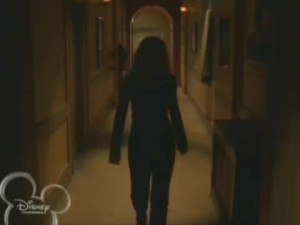 """Annie wanders the halls (""""Meow"""")"""
