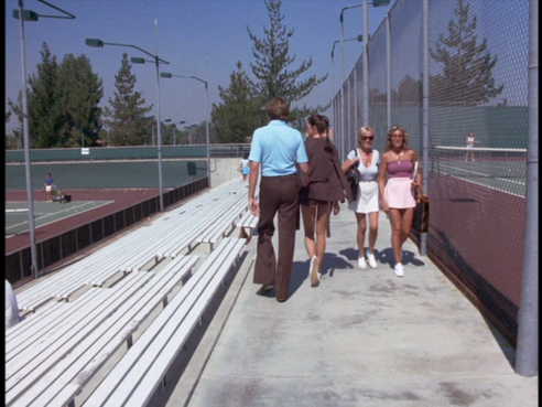 Tennis outfits of the 1970s in Wonder Woman