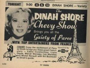 DinahShoreChevyParisShow