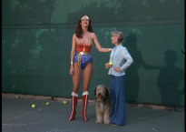 Wonder Woman, Tiger, and Tina