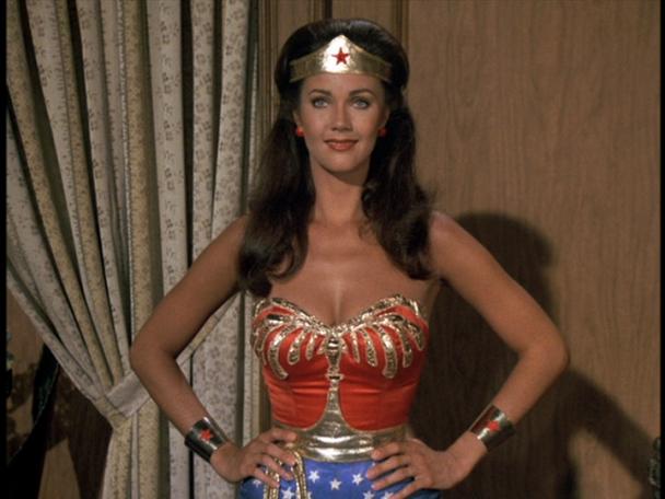 Wonder Woman as art