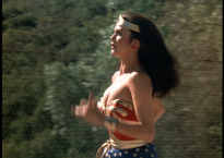 Wonder Woman running