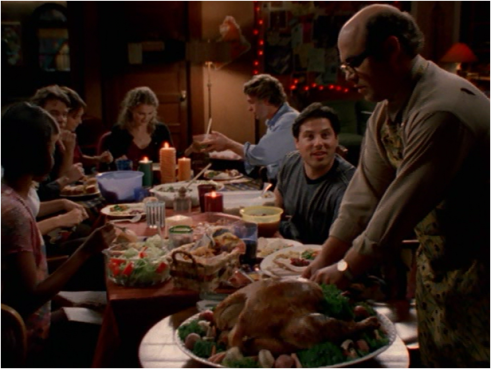 Felicity 1.09 Thanksgiving dinner