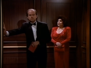 Frasier and Red Dress